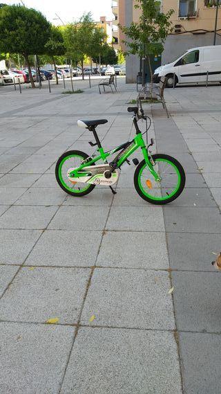 bicicleta infantil bh rebajada de 75 a 50