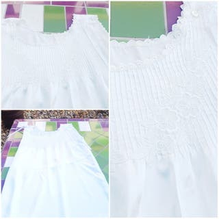Camisón blanco