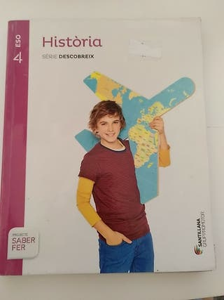 Història (llibre+quadernet) 4ESO Santillana