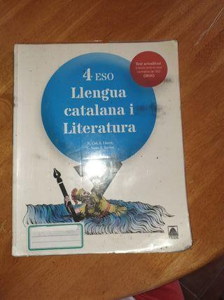Llibre Llengua Catalana i Literatura