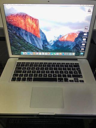 "MacBook Pro 15"" High Res. fin 2011 EN GARANTIA"