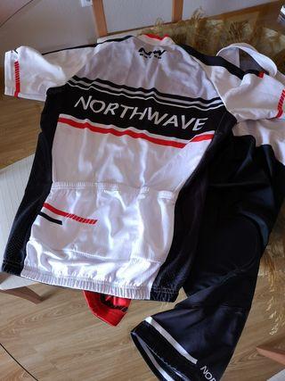 traje ciclismo Northwave