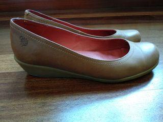 Zapatos piel Yokono. Talla 38 de segunda mano por 9 € en