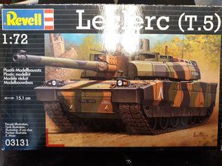 Maqueta militar de tanque Leclerc