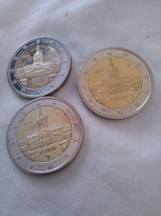 Moneda 2 euros Alemania 2018