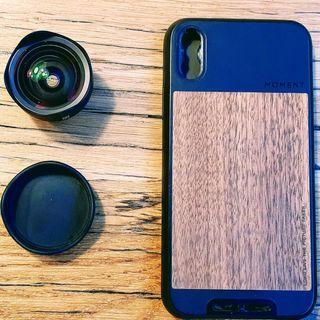 Moment Photo Case y gran angular IPhone X