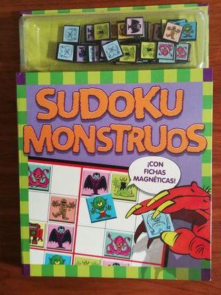 Libro. Sudoku monstruos.