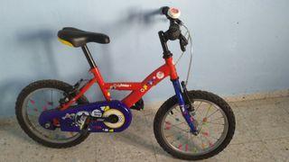 """Bicicleta infantil 16"""""""