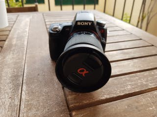 Sony Alpha 55 con 18-70mm