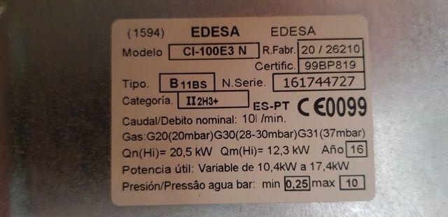 calentador de gas ciudad