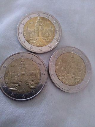 Moneda 2 euros Alemania 2016