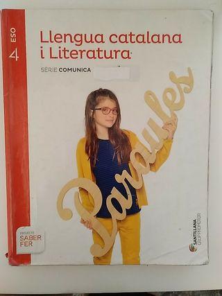 Llengua catalana i Literatura 4ESO Santillana