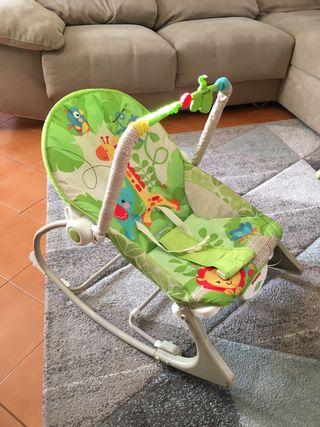 61b3ec5ae Mecedora de bebé de segunda mano en Barcelona en WALLAPOP