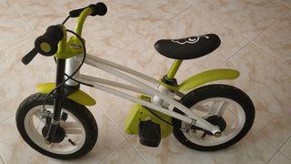 Bici bicicleta infantil evolutiva equilibrio pedal