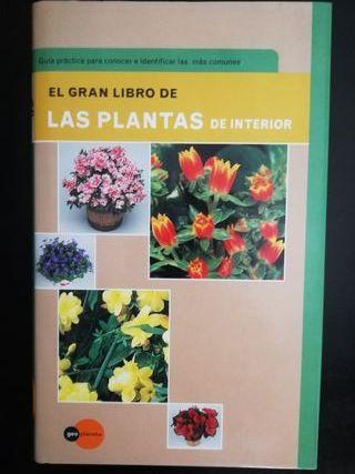 Libro. El gran libro de las plantas de interior
