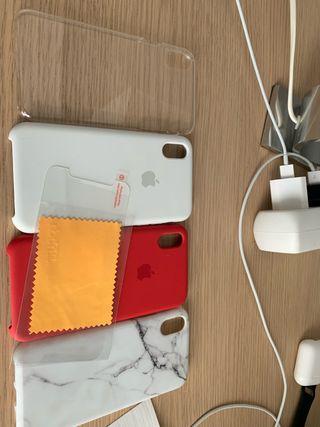 CHOLLO: Pack fundas iPhone X/Xs + PROTECTOR