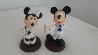 Figuras porcelana Mickey Minnie