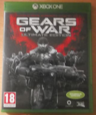 "Gear of War ""especial edition"" xbox one."