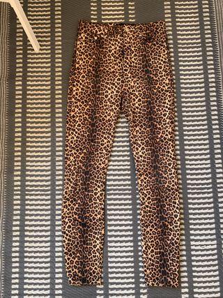 Jeans leopardo Zara