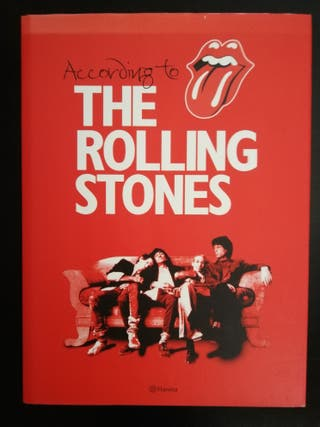 libro According to the Rolling Stones