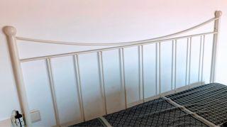 Cabezal lacado blanco 1,60cm d ancho