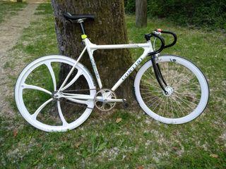 bici de pista fixed / fixie