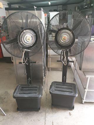 Ventiladores de agua fm