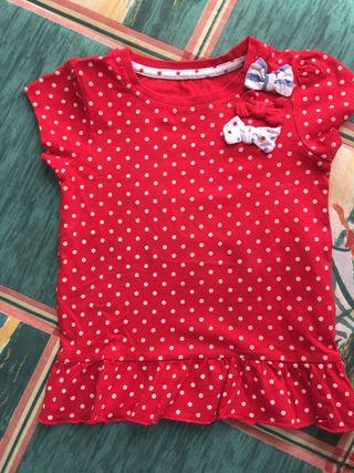 Camiseta niña talla 2-3 años