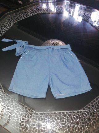 pantalón tela vaquera