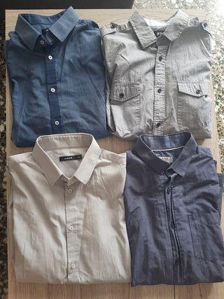 Lote camisas hombre talla M
