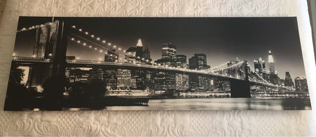 Cuadro New York 30x90