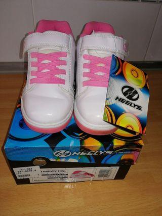 Heelys zapatillas ruedas T 33