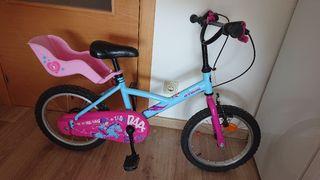 Bicicleta infantil (4 A 6 AÑOS) BTWIN WENDY PONY