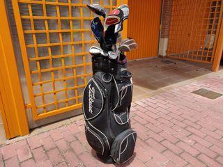 juego palos de golf completo + palos extra + bolsa