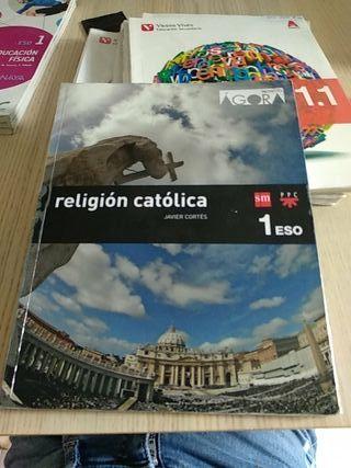 Libro religión católica 1°ESO
