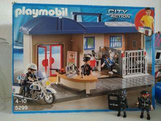 Playmobil maletín comisaría