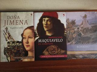 Libros. Magdalena Lasala