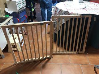 Barrera escaleras y puertas