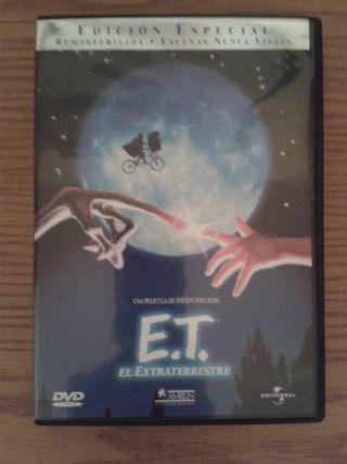 Dvd ET Edición Especial dos discos impecable