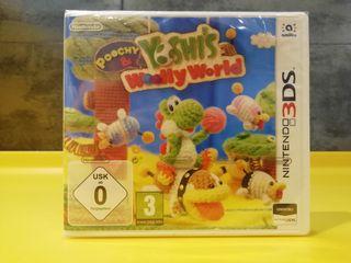 videojuego Nintendo 3DS Yoshi's Woolly World.