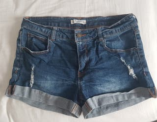 pantalon corto mujer talla 40