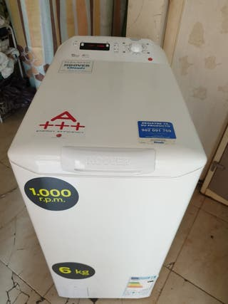 Otsein hoover 6kg 1000rpm AA impecable + porte