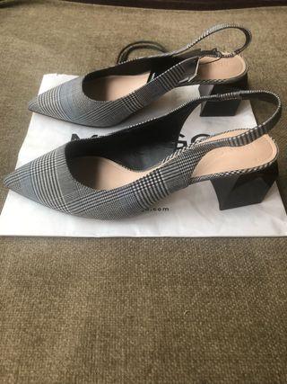 Zapatos cuadros Mango (n.38)