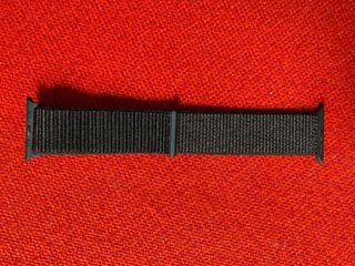 Correa Loop deportiva negra (42/44 mm)