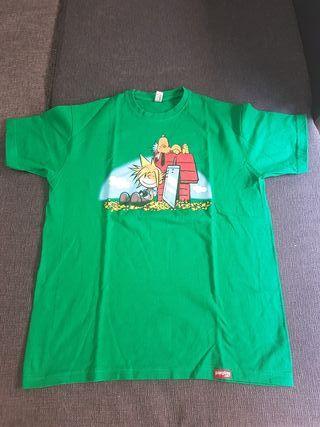 Camiseta Final Fantasy VII/ Snoopy