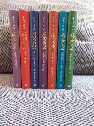 Colección competa de Las Crónicas de Narnia