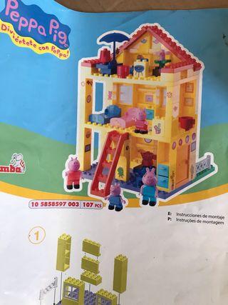 LEGO Duplo casa de Pappa Pig y otros