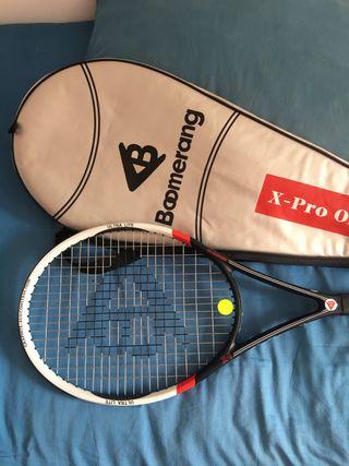 Raqueta de tenis Boomerang Nueva