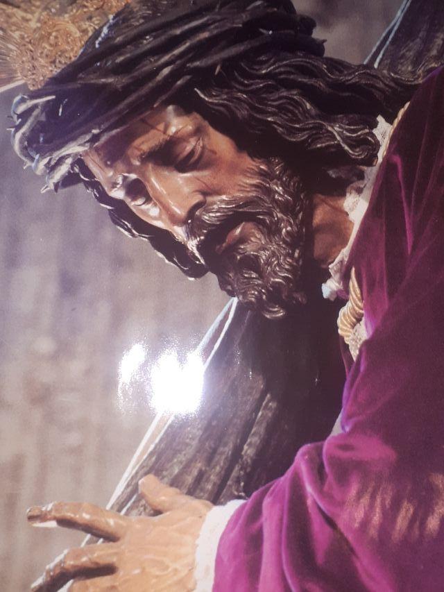 Lamina De Cuadro Cristo De La Pasion Sevilla De Segunda Mano Por 20