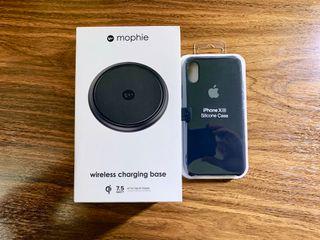 Base carga inalámbrica Mophie + Funda iPhone X/Xs